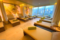 Sala relax area benessere